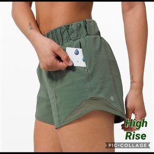 Lululemon Hotty Hot Shorts **HIGH RISE